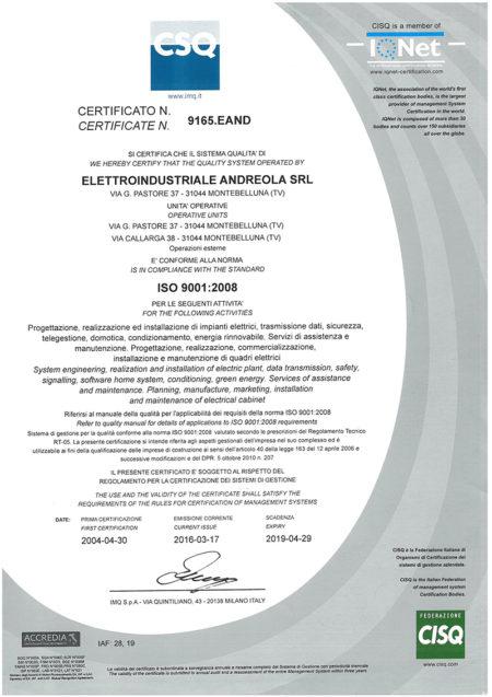 ISO-P2-certificazione