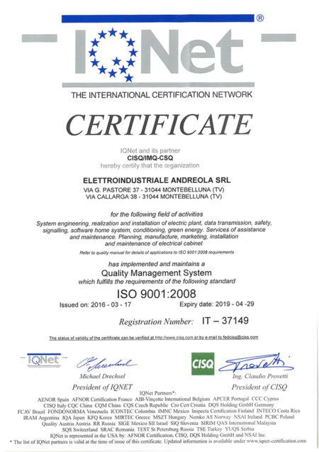 ISO-p1-certificazione
